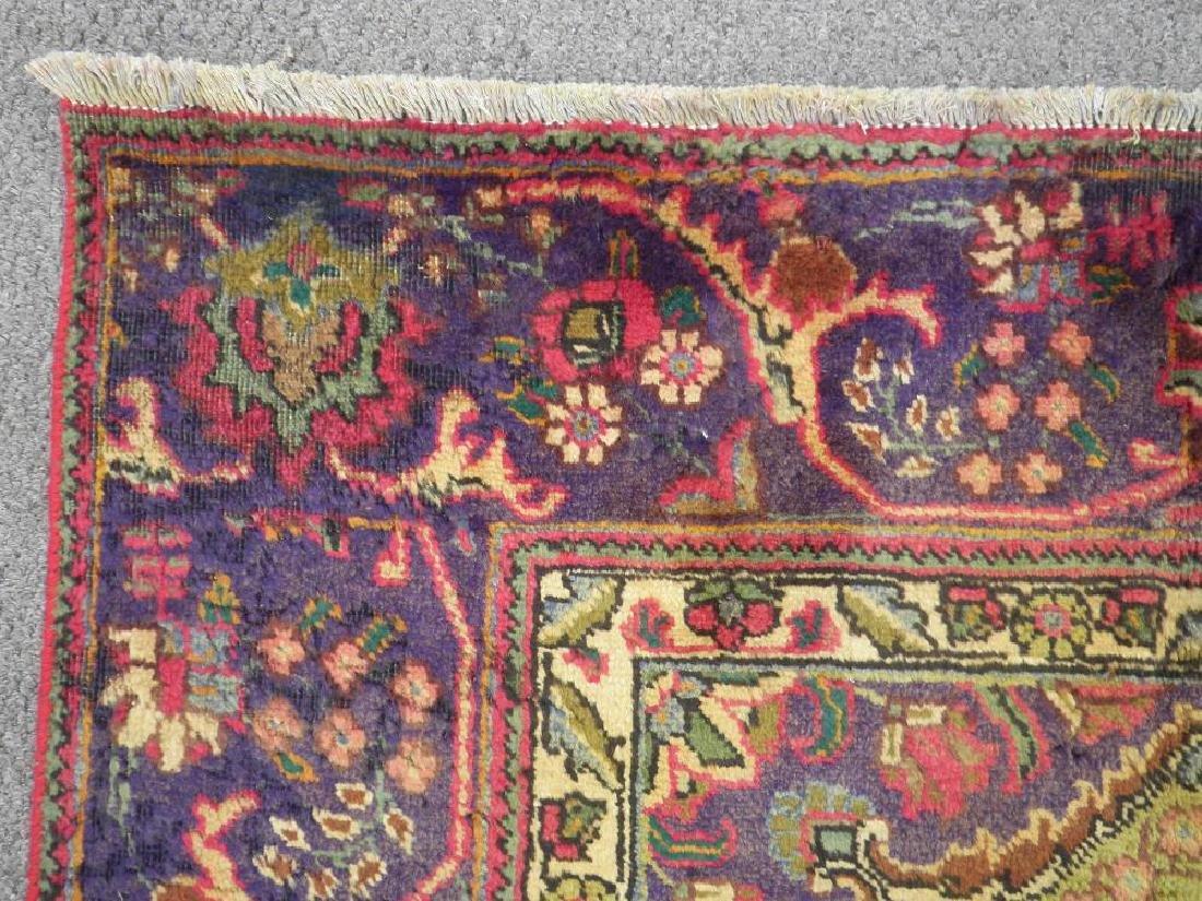Detailed Semi Antique Persian Tabriz 10.6x8.2 - 8