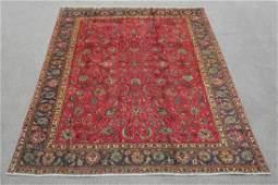 Semi Antique Allover Persian Tabriz 10.1x6.7