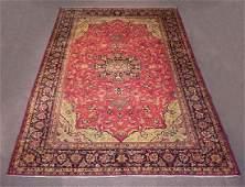 Handmade Semi Antique Persian Sabzevar 11.5x8.2