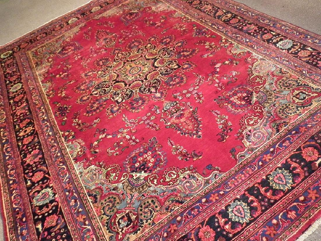Spectacular Semi Antique Persian Kashan 10.8x8.1 - 2