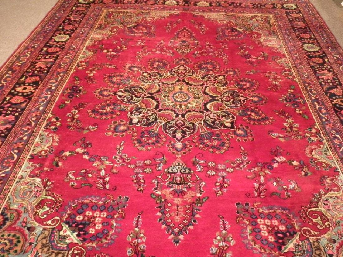 Spectacular Semi Antique Persian Kashan 10.8x8.1 - 3