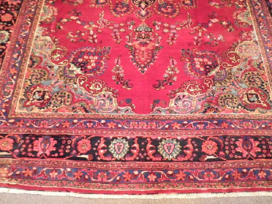 Spectacular Semi Antique Persian Kashan 10.8x8.1 - 4