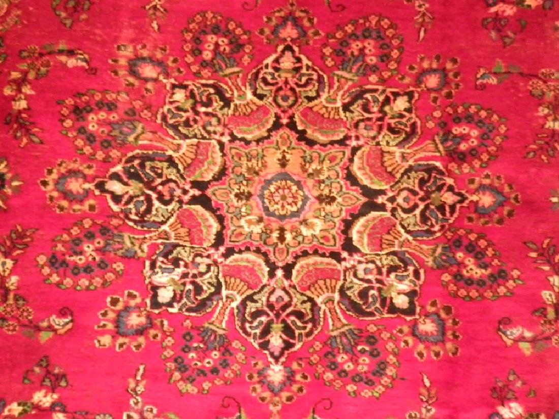Spectacular Semi Antique Persian Kashan 10.8x8.1 - 5
