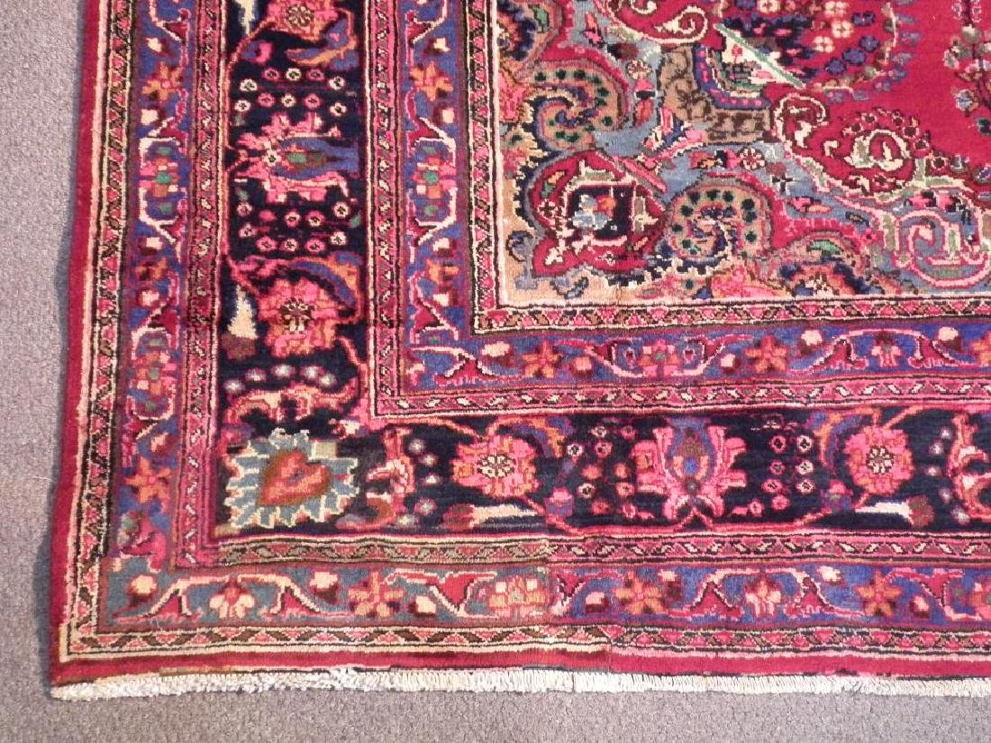 Spectacular Semi Antique Persian Kashan 10.8x8.1 - 6