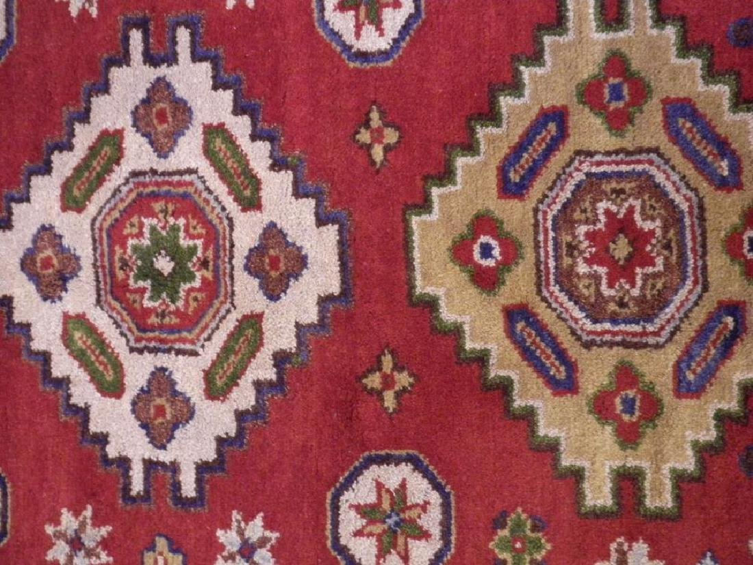 Lovely Handmade Kazak Design 4.1x6 - 3