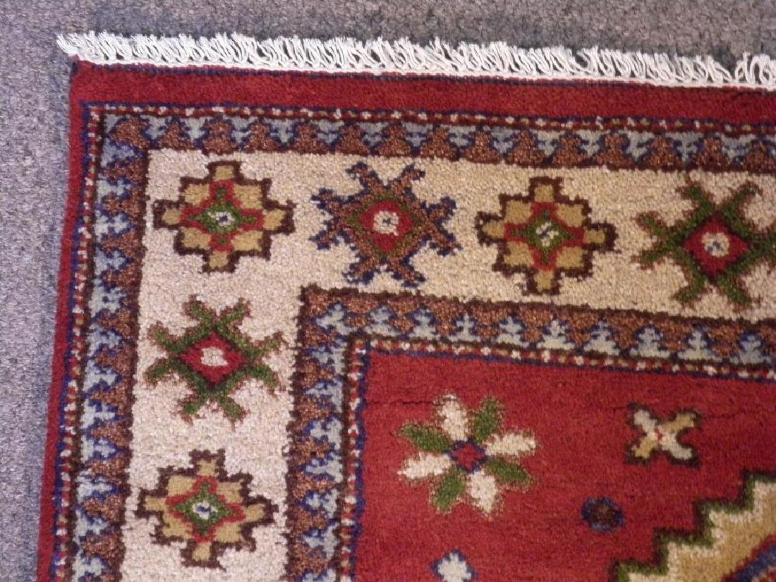 Lovely Handmade Kazak Design 4.1x6 - 4