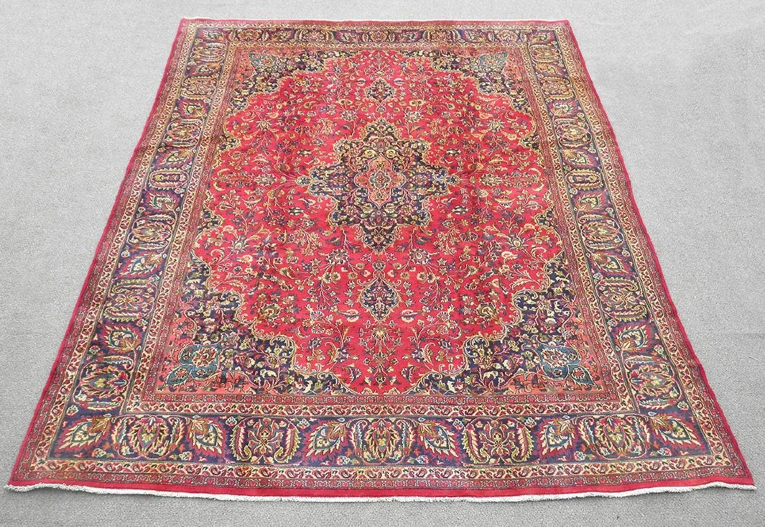 Stunning Semi Antique Persian Mashad 12.5x9.5