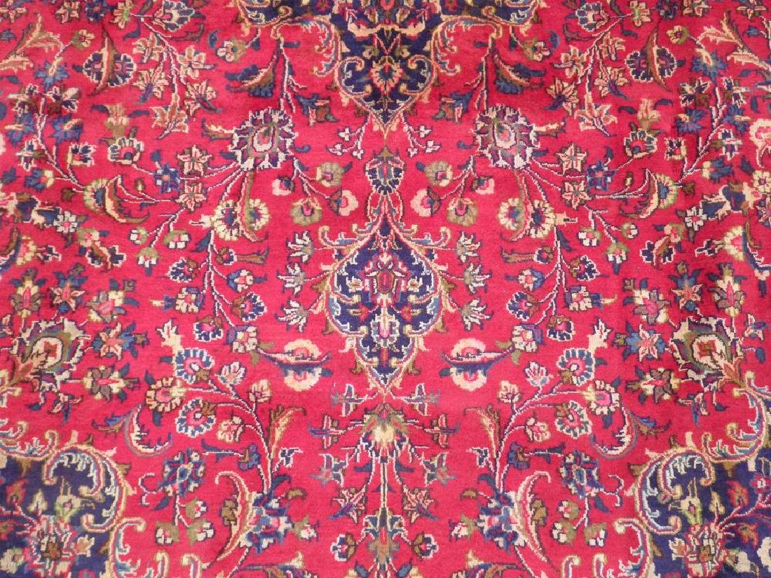 Stunning Semi Antique Persian Mashad 12.5x9.5 - 3