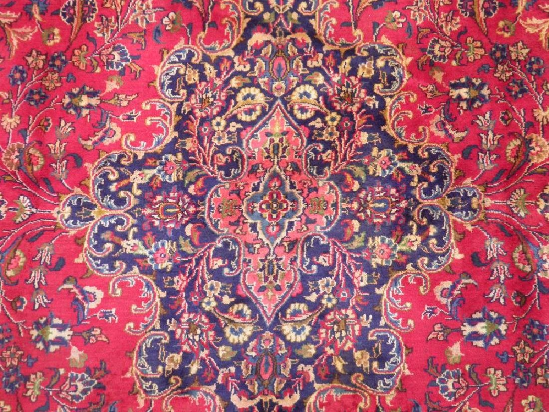 Stunning Semi Antique Persian Mashad 12.5x9.5 - 4