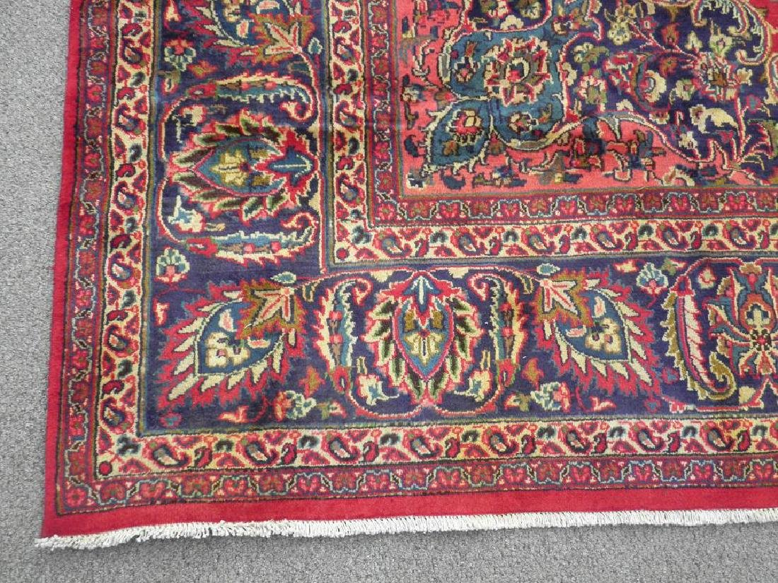 Stunning Semi Antique Persian Mashad 12.5x9.5 - 5