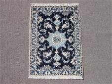 Gorgeous Hand Woven WoolSilk Persian Nain 2x3