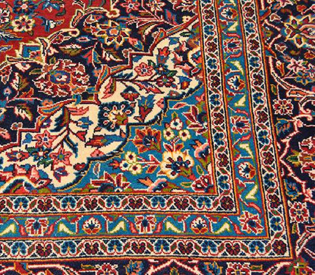 Large Authentic Persian Kashan Rug - 3