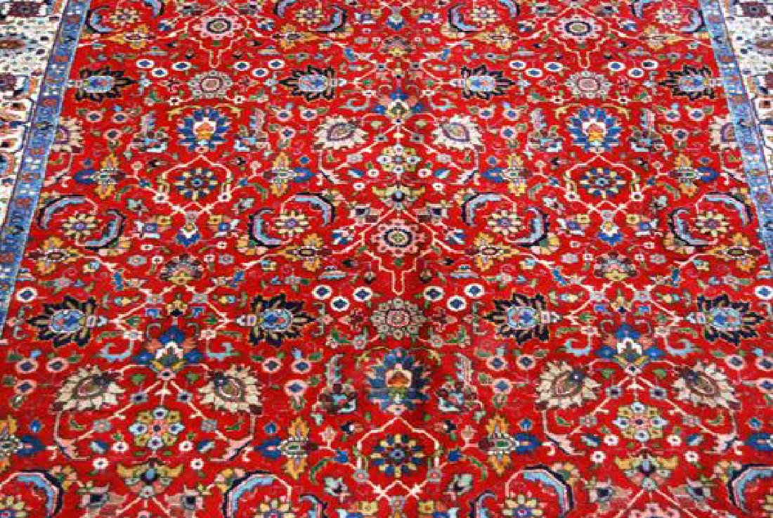 Beautiful Traditional Design Persian Tabriz 7x10 - 2