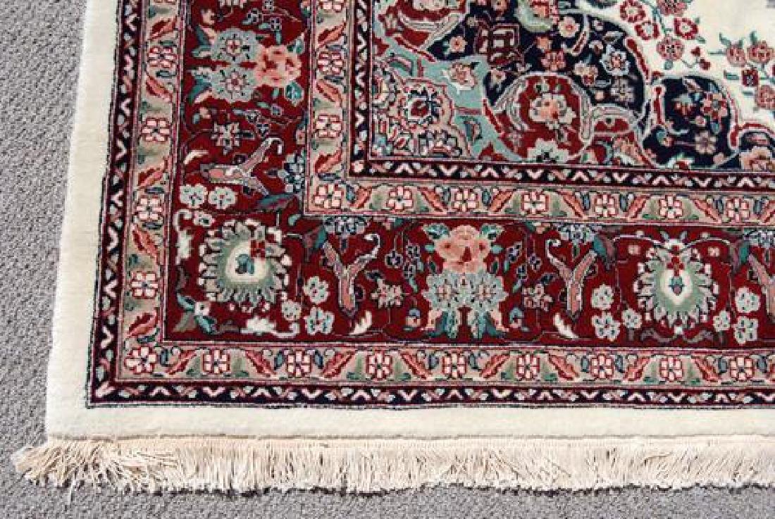 Gorgeous Wool and Silk Tabriz Design Rug - 3