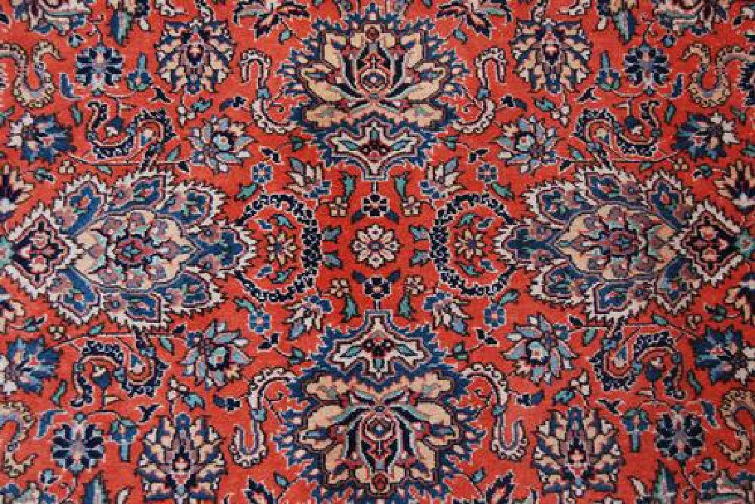 GREAT LOOKING ALLOVER FLORAL SAROUK DESIGN - 3