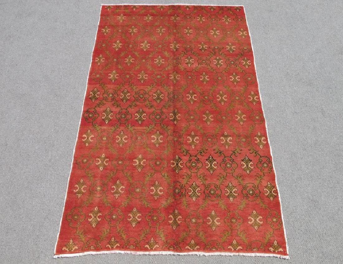 Beautiful Handmade Semi Antique Turkish Konya 5x8 - 2