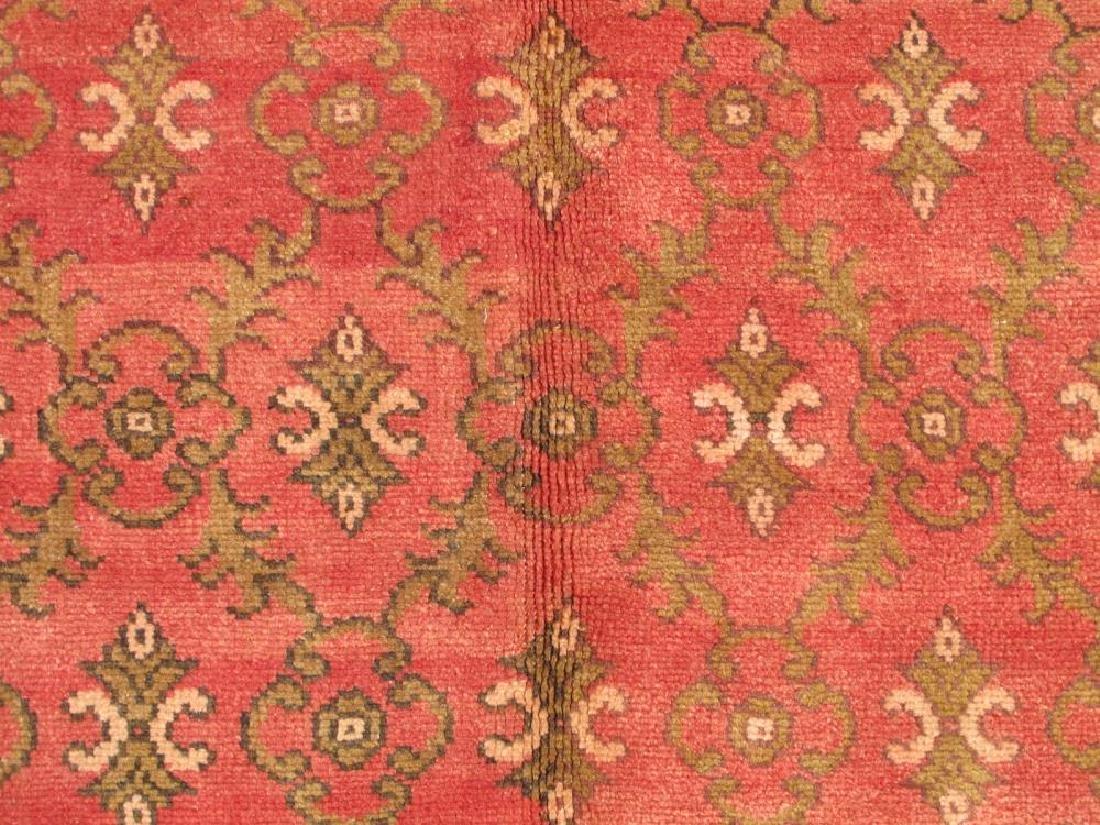Beautiful Handmade Semi Antique Turkish Konya 5x8 - 3