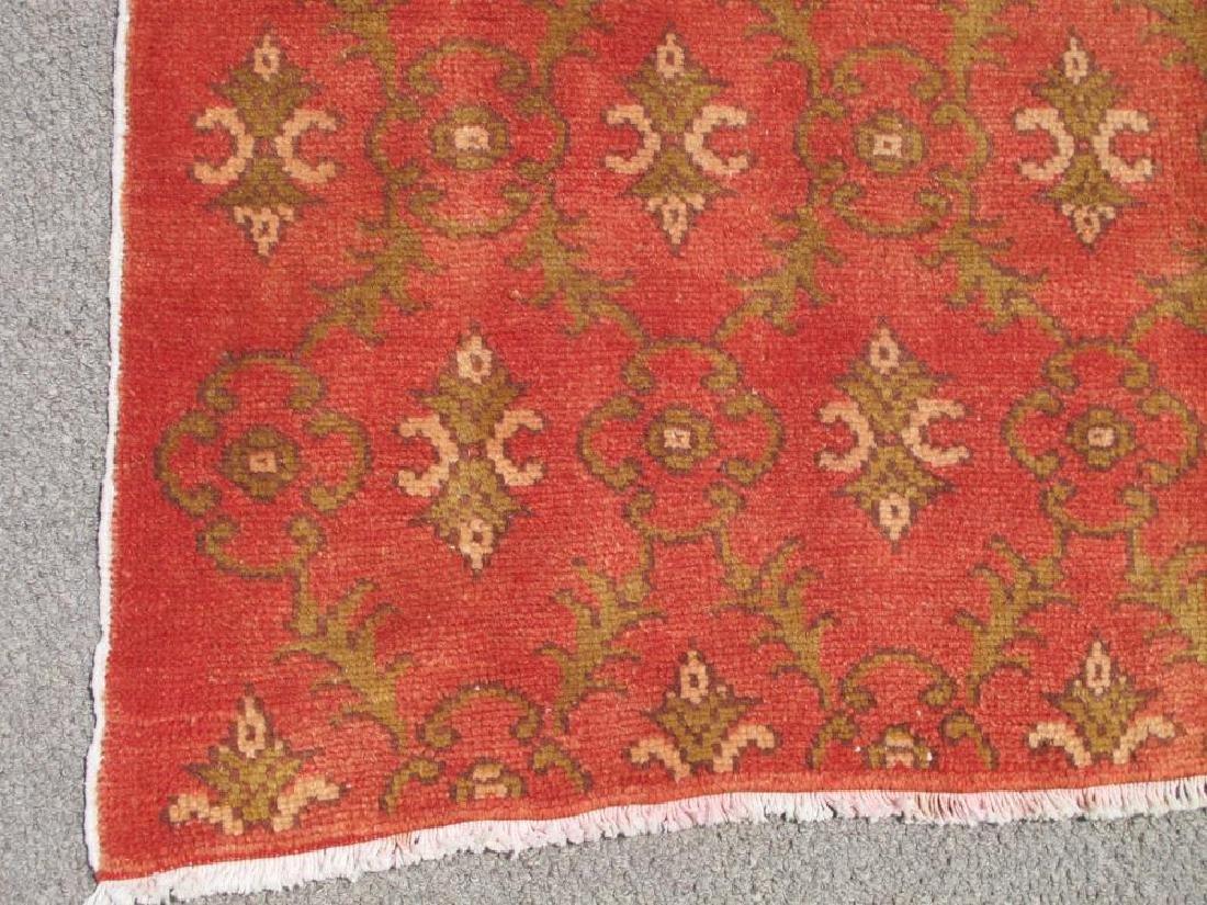 Beautiful Handmade Semi Antique Turkish Konya 5x8 - 4