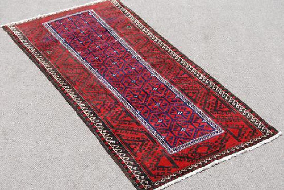 HAND MADE TURKMAN RUNNER