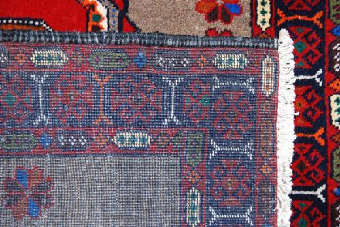 Finely Knotted Delicate Persian Turkmen Rug 3x6 - 4