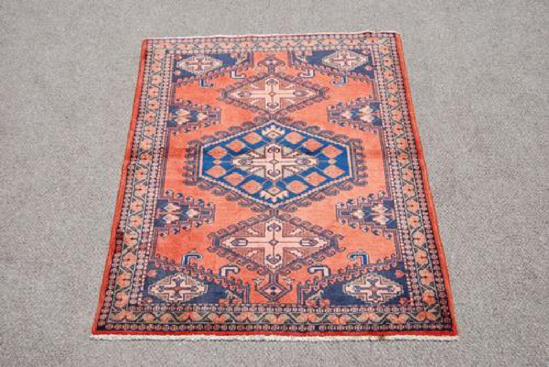 BEAUTIFUL AUTHENTIC HAND MADE PERSIAN VEESE RUG - 2