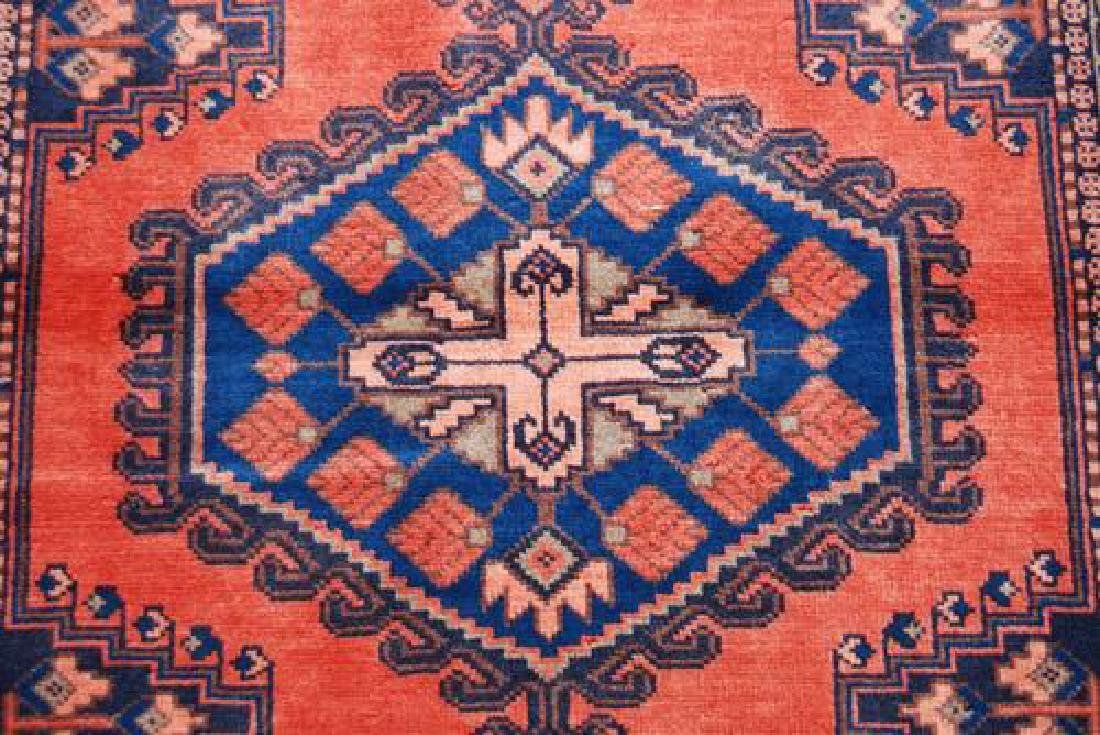 BEAUTIFUL AUTHENTIC HAND MADE PERSIAN VEESE RUG - 3
