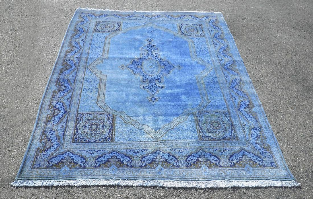 Quite Fascinating Semi Antique Open Field Persian