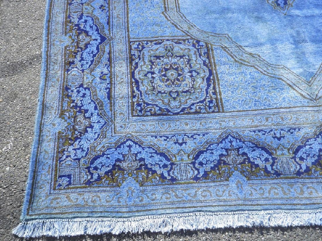 Quite Fascinating Semi Antique Open Field Persian - 5