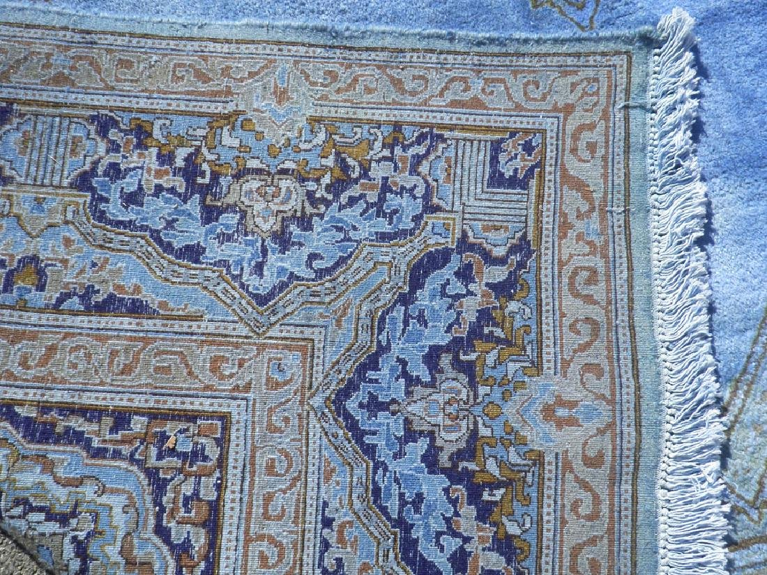Quite Fascinating Semi Antique Open Field Persian - 6