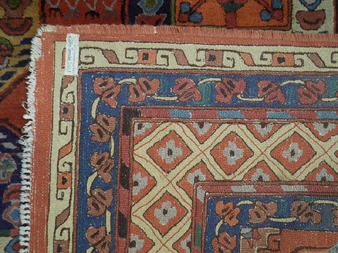 Highly Collectible Handmade Turkish Bakhtiari Four - 4
