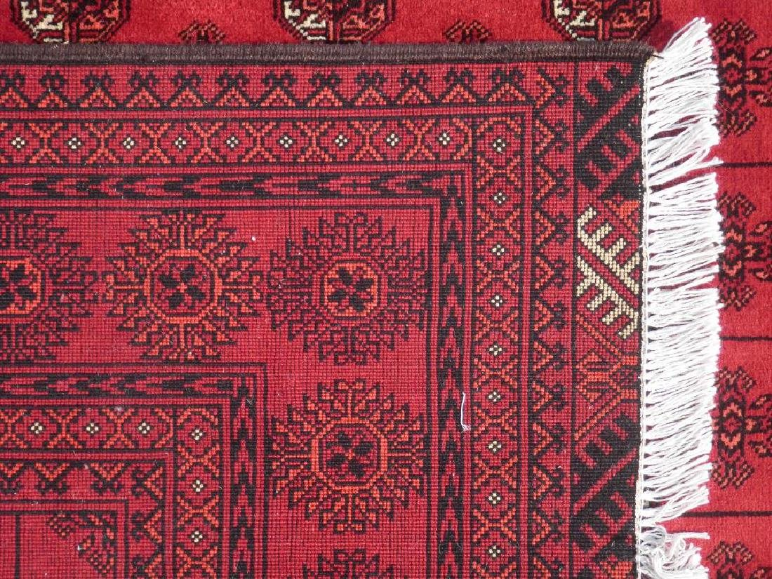 Hand Knotted Semi Antique Afghan Allover Design 6x10 ft - 5