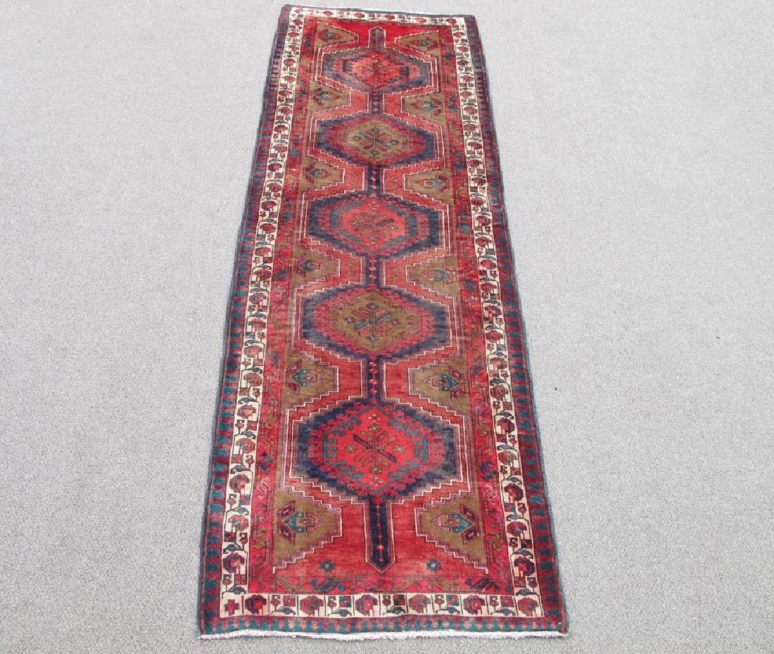 Captivating Semi Antique Persian Sarab 10.9x3.6