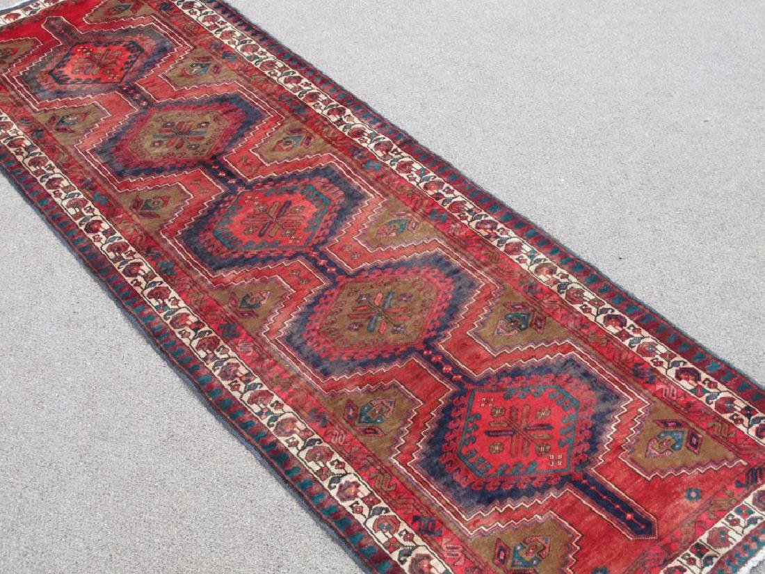 Captivating Semi Antique Persian Sarab 10.9x3.6 - 2
