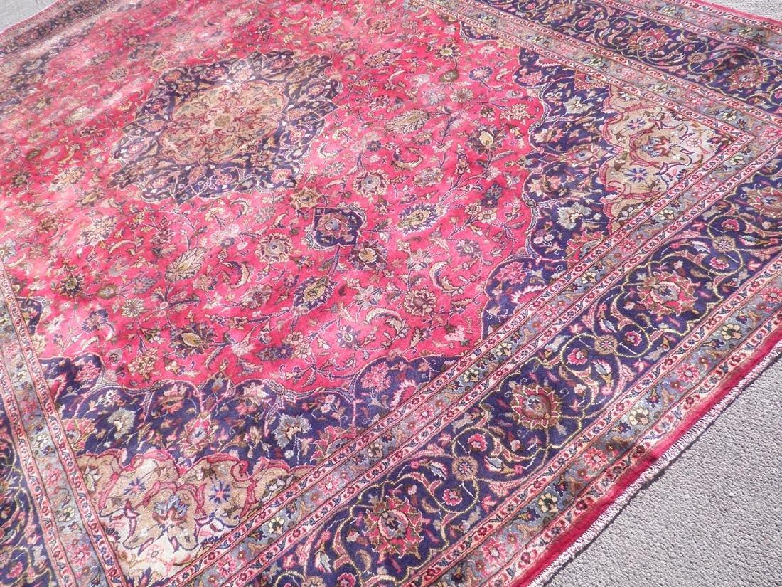 Investment Semi Antique Persian Mashhad 12.9x9.6 - 2