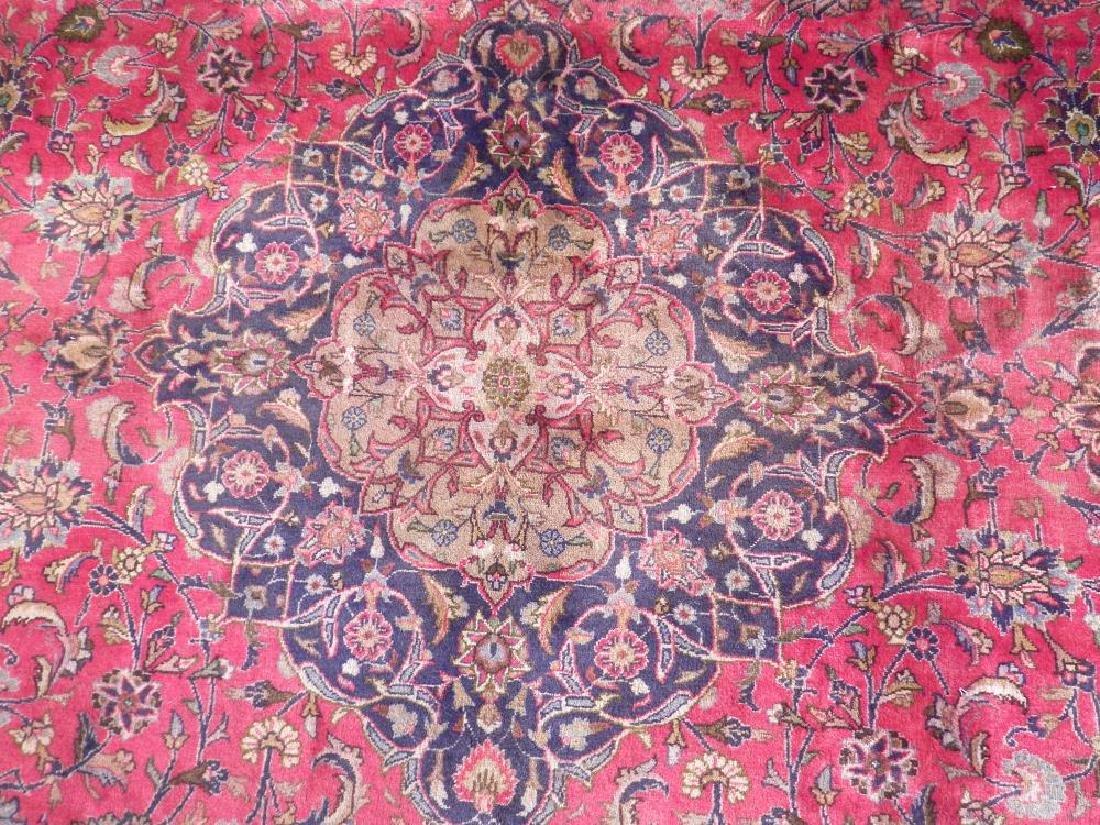 Investment Semi Antique Persian Mashhad 12.9x9.6 - 4