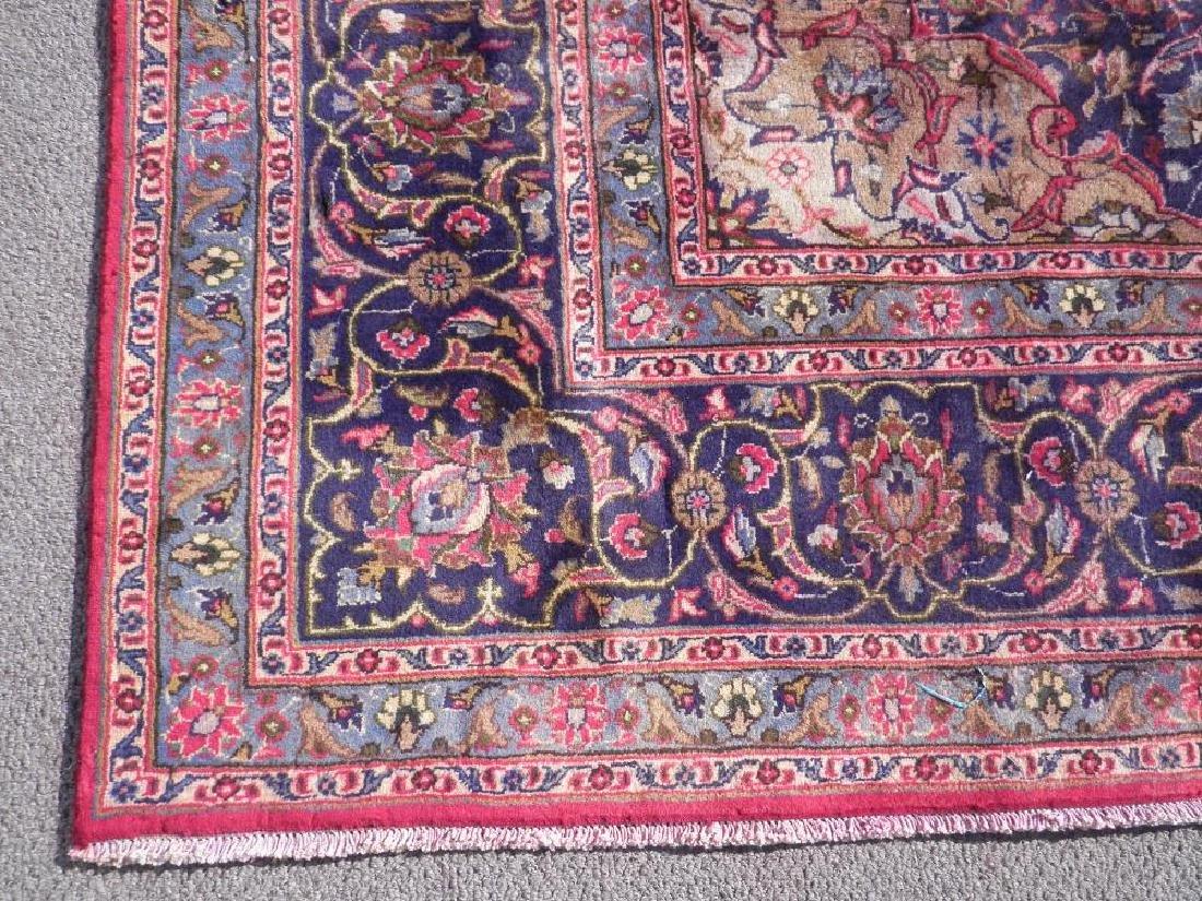 Investment Semi Antique Persian Mashhad 12.9x9.6 - 6