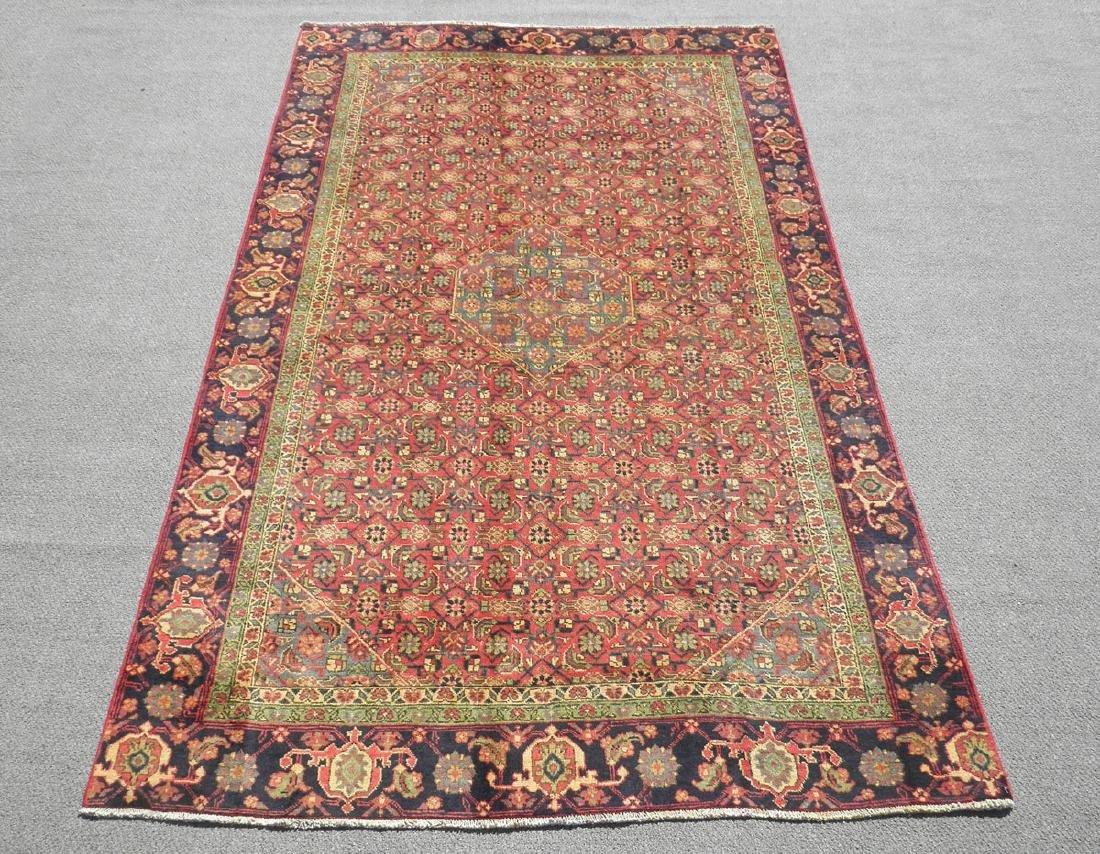 Spectacular Semi Antique Persian Tabriz 10.8x6.4
