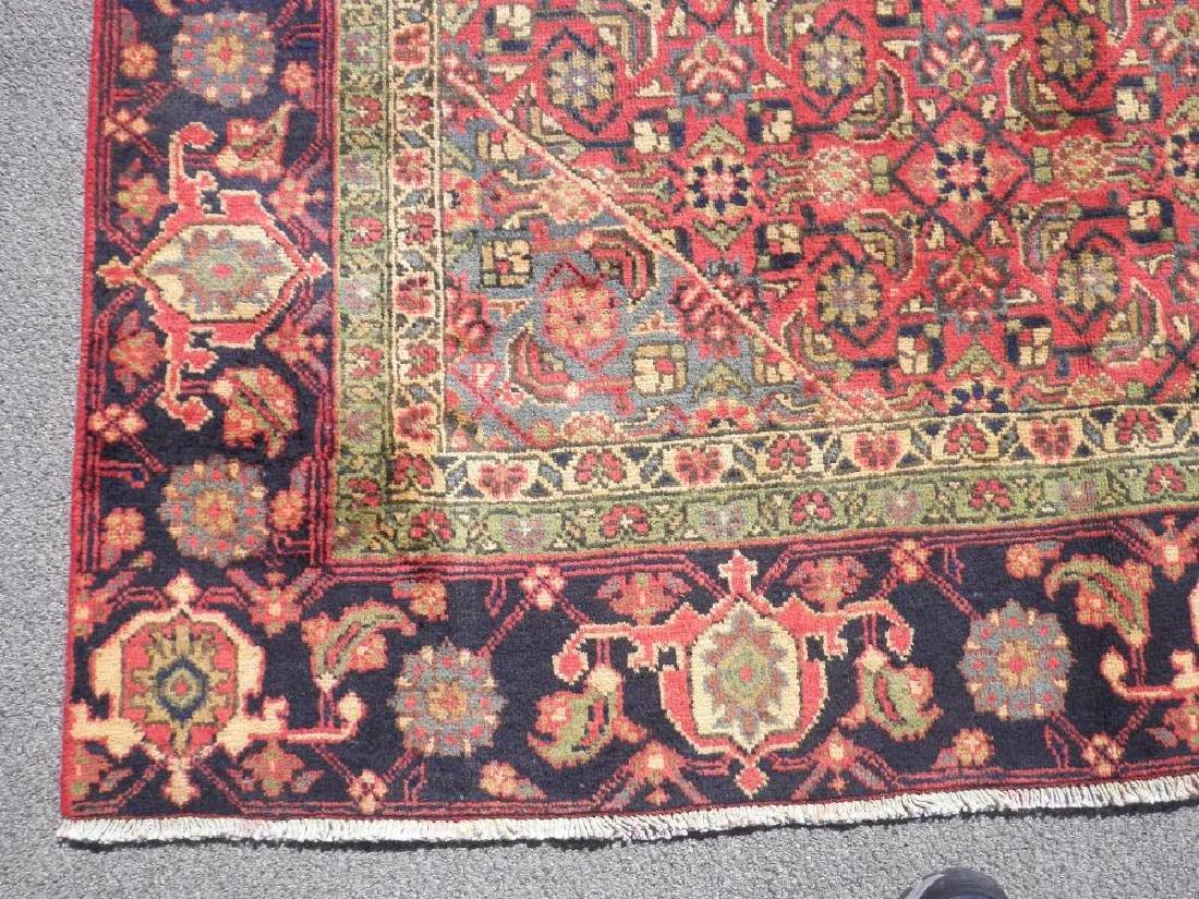 Spectacular Semi Antique Persian Tabriz 10.8x6.4 - 4
