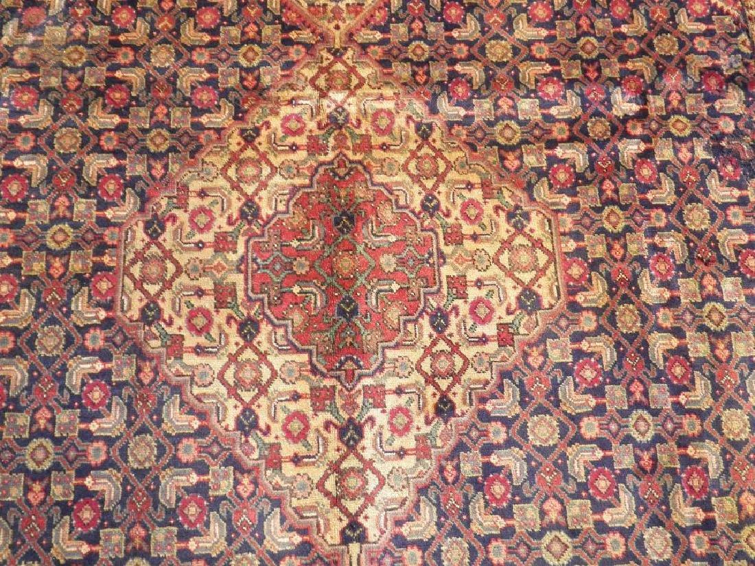 Semi Antique Persian Tabriz Mahi (Fish) Design 10.8x7 - 3