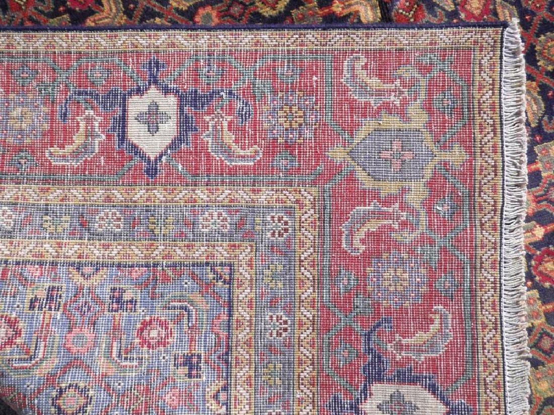 Semi Antique Persian Tabriz Mahi (Fish) Design 10.8x7 - 7