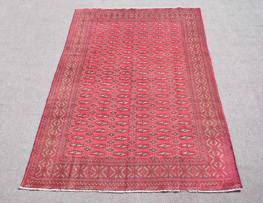 Authentic Semi Antique Persian Turkman 9.6x6.6