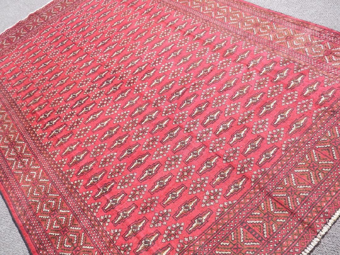 Authentic Semi Antique Persian Turkman 9.6x6.6 - 2