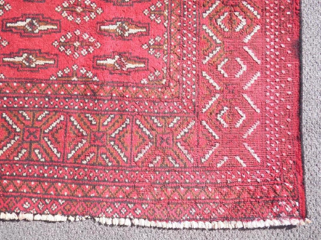 Authentic Semi Antique Persian Turkman 9.6x6.6 - 4