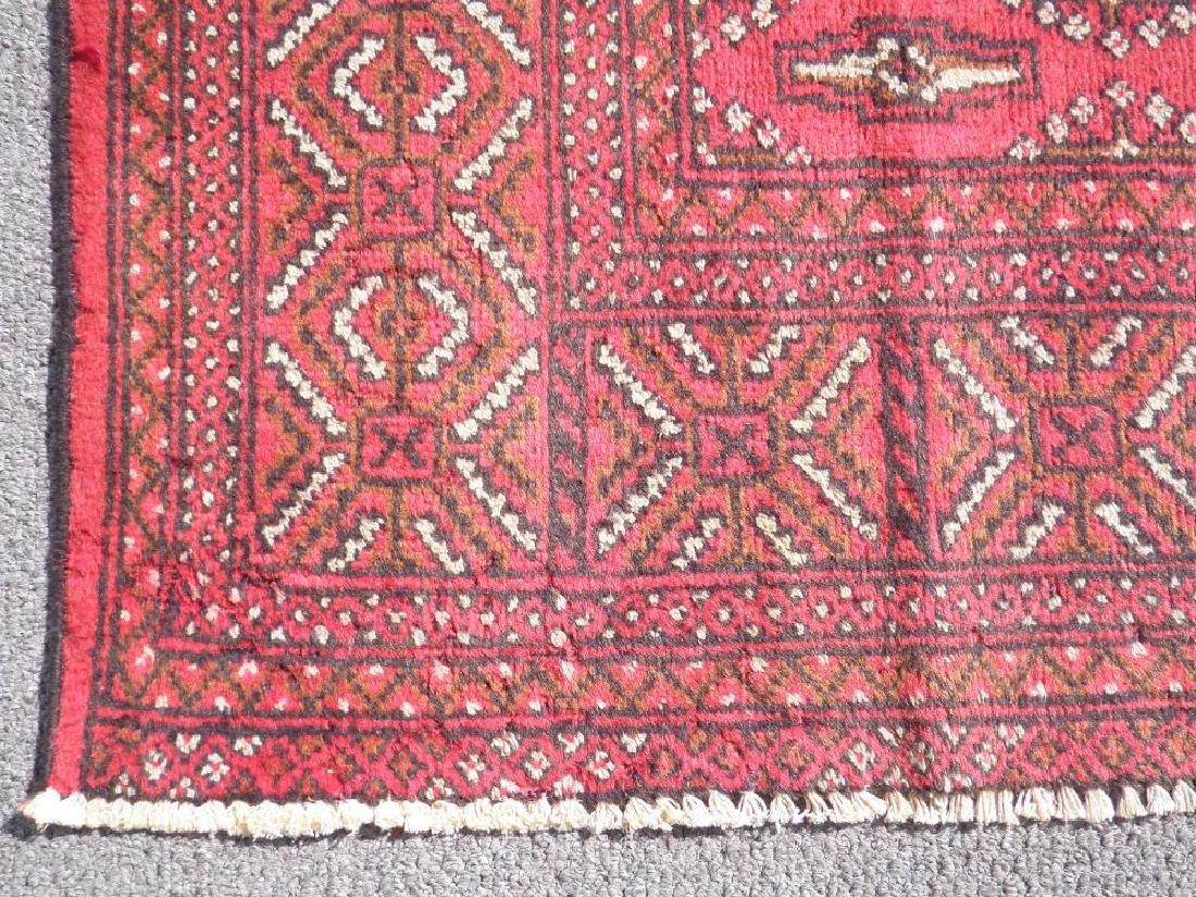 Authentic Semi Antique Persian Turkman 9.6x6.6 - 5