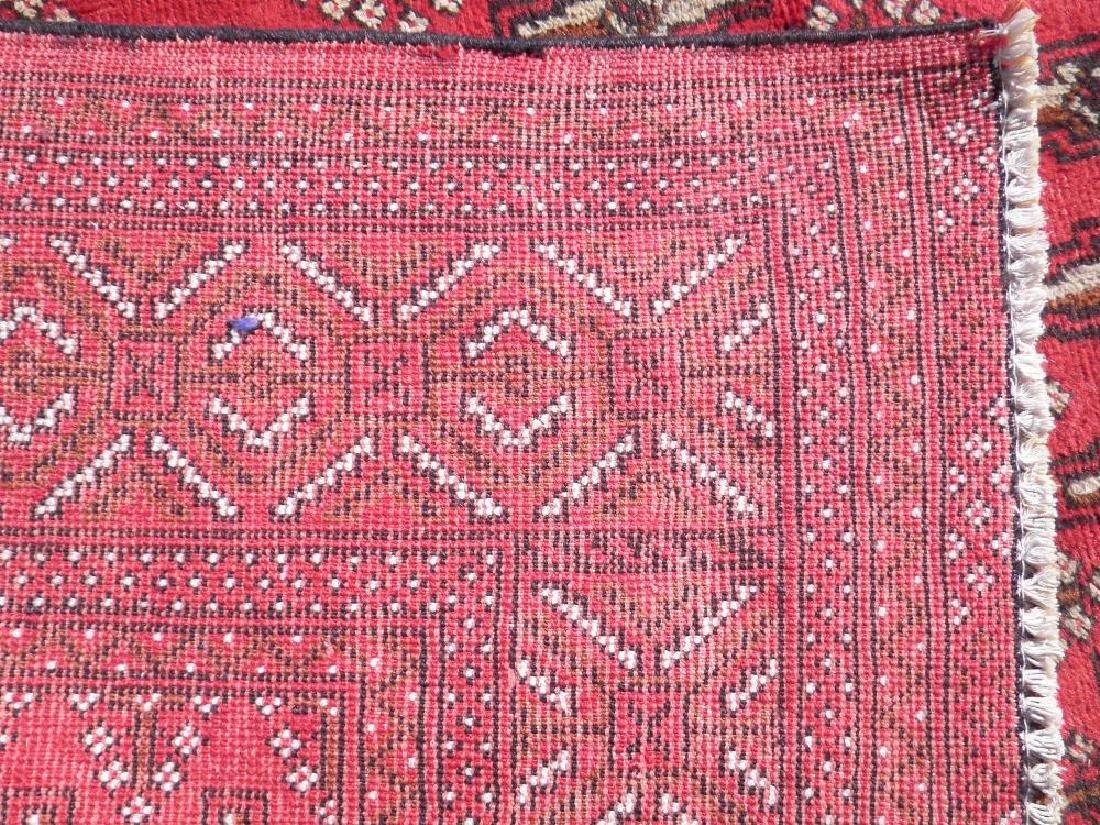Authentic Semi Antique Persian Turkman 9.6x6.6 - 6