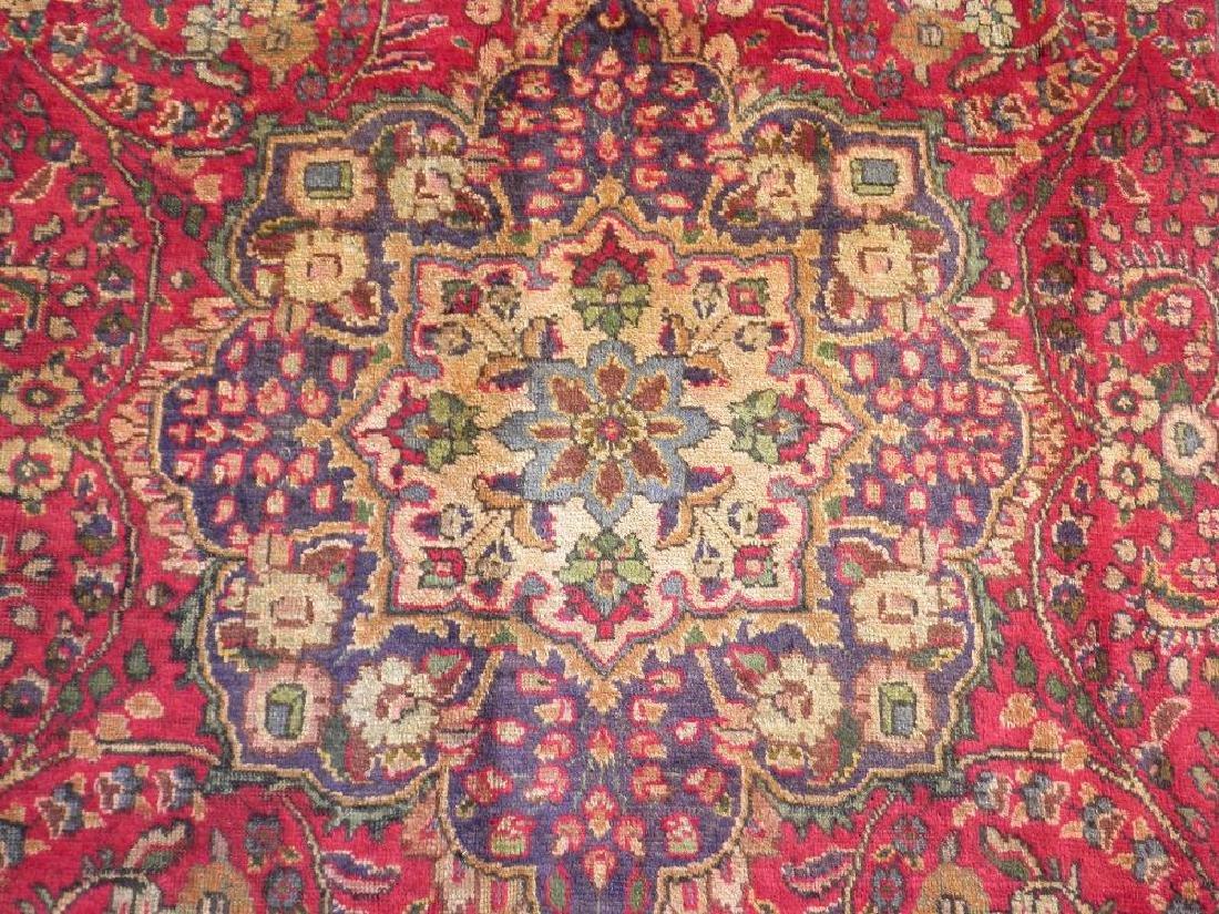 Strikingly Beautiful Semi Antique Persian Tabriz 9.9x7 - 4