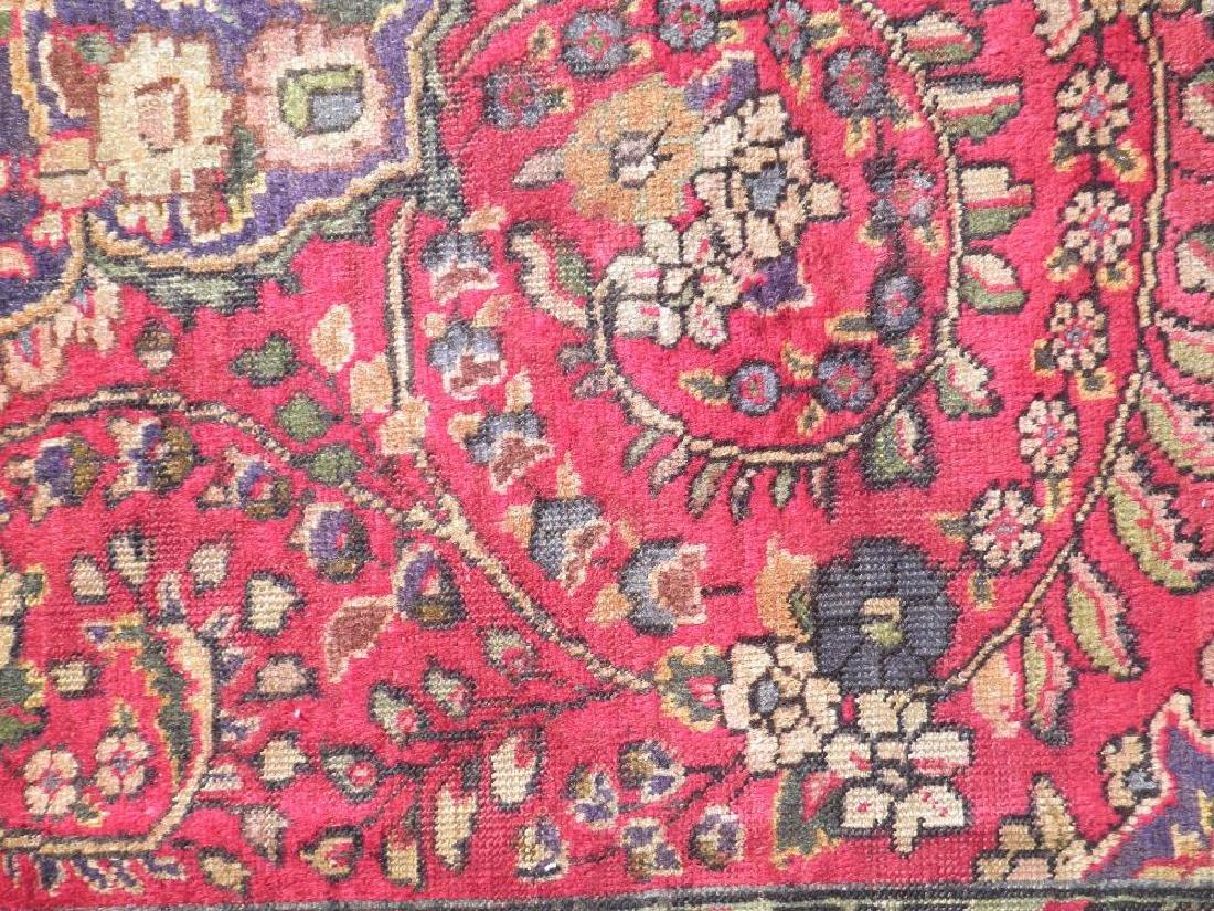 Strikingly Beautiful Semi Antique Persian Tabriz 9.9x7 - 7