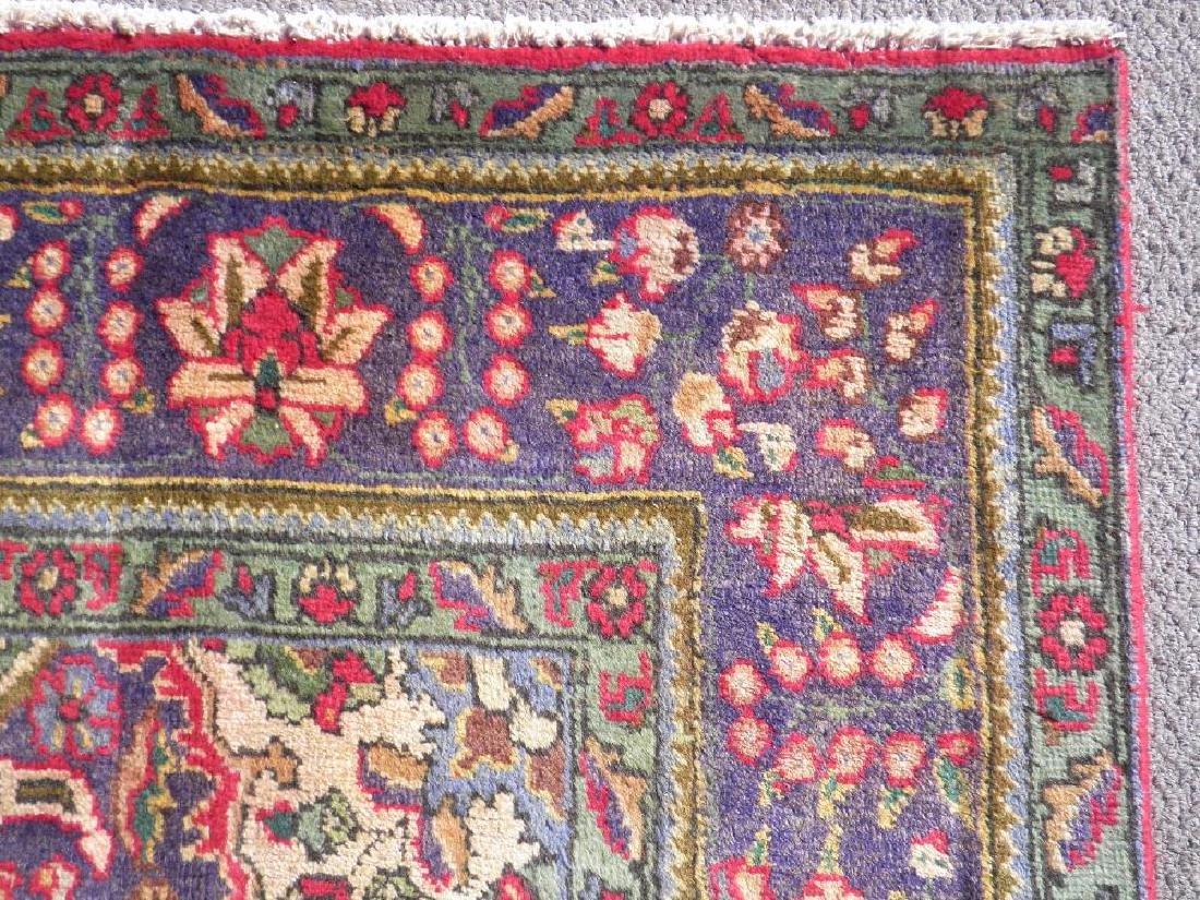 Strikingly Beautiful Semi Antique Persian Tabriz 9.9x7 - 8