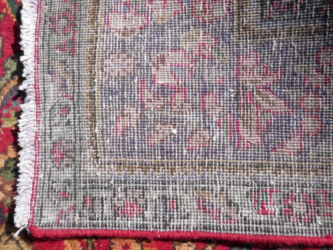 Strikingly Beautiful Semi Antique Persian Tabriz 9.9x7 - 9