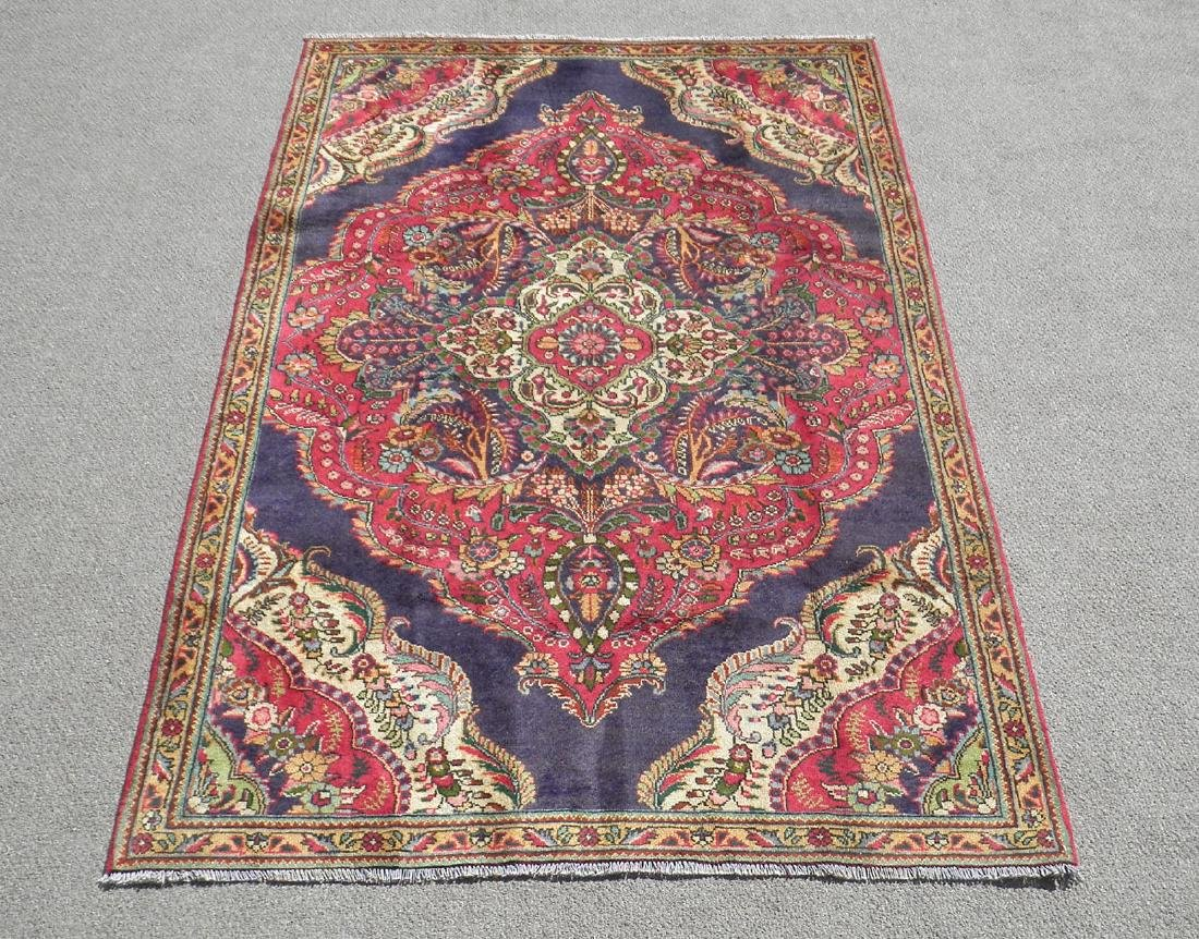 Extremely Gorgeous Semi Antique Persian Tabriz 8.2x4.9
